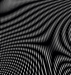 Moire style gradient optical pattern motion effect vector