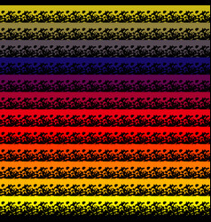 abstract colorful seamless pattern background with vector image