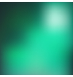 Green blur background vector image