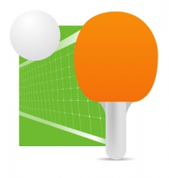 ping pong vector image vector image