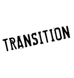 transition rubber stamp vector image