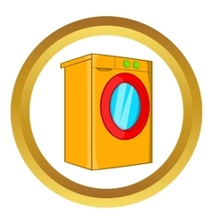 Washer icon vector
