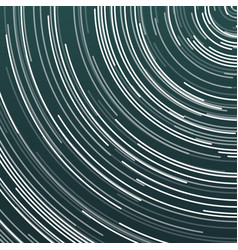 star trails effect vector image