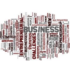 Entrepreneurship a leap of faith text background vector
