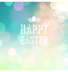 Easter background bokeh blue vector