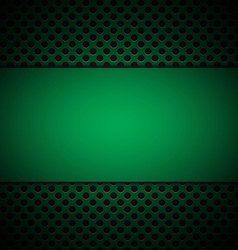 green grill texture background vector image