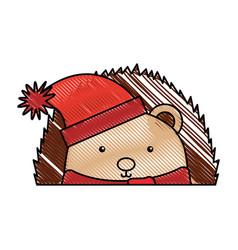 animal corpspin cartoon vector image