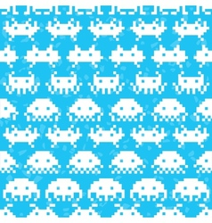 Old school game pattern vector image vector image