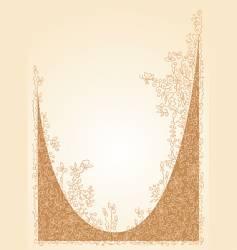vignette vector image