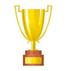 Winner cup eps10 vector image vector image