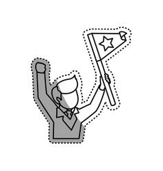 successful executive businessman vector image