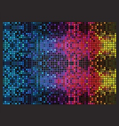 Psychedelic mosaic vector image