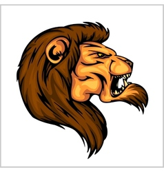 Lion head mascot - for sport vector