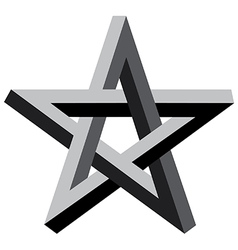 3d star vector image