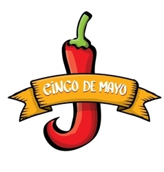 Cinco de mayo icon vector