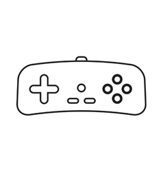 Control icon videogame design graphic vector
