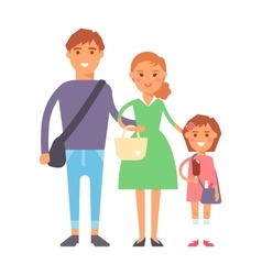 Family portrait vector