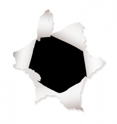 torn paper design elements vector image