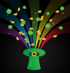 St patricks day template background vector