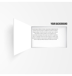 Background window texture design vector