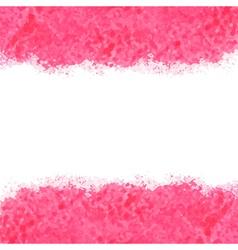pink watercolor vector image