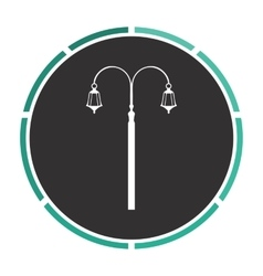 Street light computer symbol vector