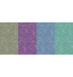 Color seamless pattern background vector image
