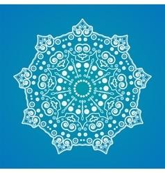 Mandala yoga pattern vector