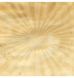 Old Paper With Sunburst vector image vector image