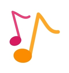 Musical note i vector