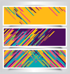 Modern banner designs vector
