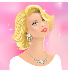 Woman beauty vector