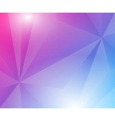 Poligon geometric background vector image
