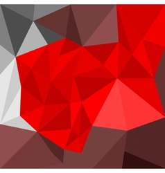 Abstract flat geometric background vector