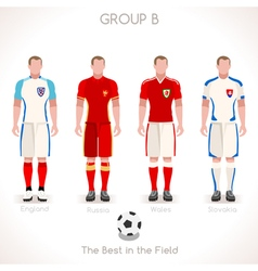 EURO 2016 GROUP B Championship vector image