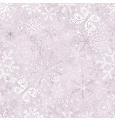 pastel seamless christmas vector image