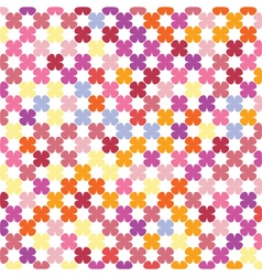 Abstract flowers texture vector
