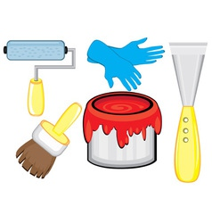 Tools for diy repairs vector