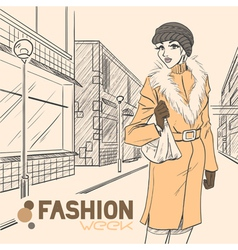 Fashion style01 vector