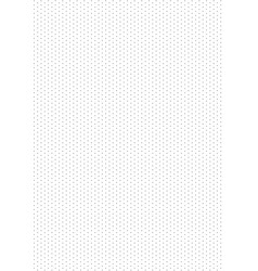isometric grid vector image vector image