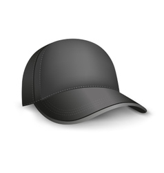 Black cap vector