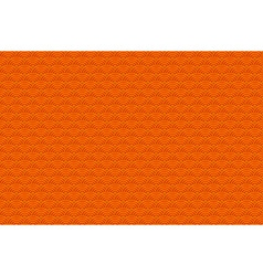 Chinese orange seamless pattern dragon fish scales vector image vector image