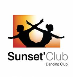 Sunset club logo vector