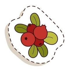 Autumn icon isolated vector
