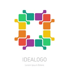 logo design element or icon Abstract Logotype vector image
