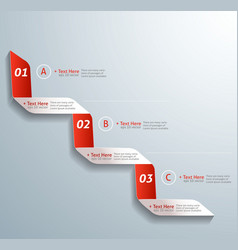 Next step arrow boxes vector