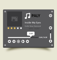 Music player 17 vector