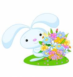 bunny boy vector image