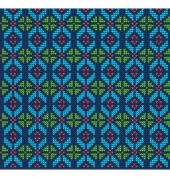 Ugly sweater Background vector image vector image