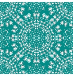 White water drops on turquoise background vector